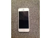 White iPhone 5 16gb