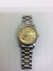 Men's automatic wristwatch working condition