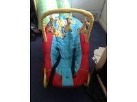 Baby rocking seat