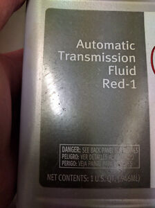 RED-1 AUTOMATIC TRANSMISSION FLUID Cornwall Ontario image 2