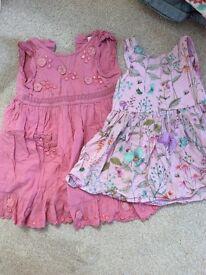 Next summer dresses age 9-12months