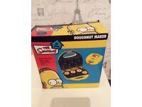 New Simpsons Doughnut Maker