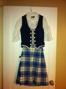 Girl's Highland Dance Outfit
