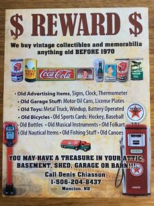 wanted paying $$$ for motor oil tin can red indian white rose
