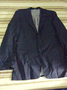 Hugo Boss suit jacket, size:40L.never worn, almost in new condit