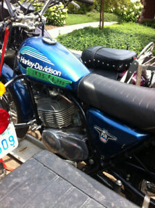 Downsizing collection......Vintage AMF Harley Davidson 175 cc
