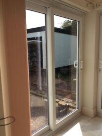 White UPVC Sliding Patio Doors