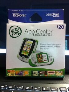Leap Frog App Center Download Card $20.00 New Unused