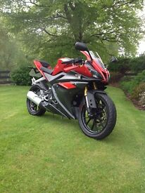 Yamaha yzf R125 2016 (£2,600 TAKES TODAY)