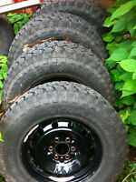 F-150 WINTER STUDDED TIRES AND RIMS