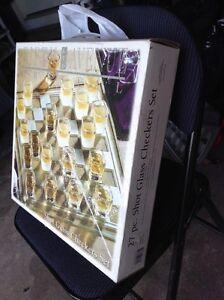 Checkers shot glass set! Cambridge Kitchener Area image 1