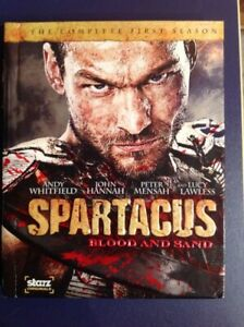 Spartacus blood and sand the complete first season on Blu-ray