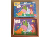 Harry and his bucket full of dinosaurs puzzle 35 pieces