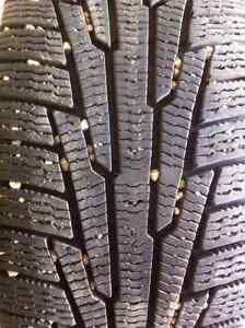 4 Nokian winter tires and rims-excellent condition Strathcona County Edmonton Area image 1