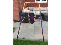 Headstrom baby/ toddler swing - used a couple of times