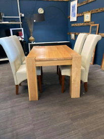 Dining room table and 4 chairs