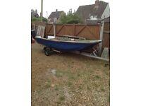 14ft dory fishing boat