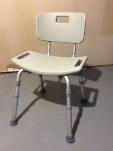 Shower chair and bench