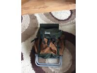 FISHING CHAIR AND RUKSACK