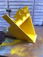 Mini excavator Vee bucket