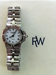 Raymond Weil Parsifal Stainless Steel Sapphire Watch Swiss Peterborough Peterborough Area image 6