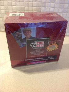 1991 Pro Set Racing NHRA Drag Racing Cards Factory Sealed Box