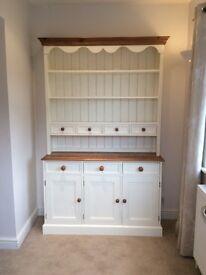 Dresser cream and waxed pine