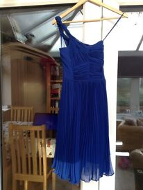 Coast dress midnight blue - size 10