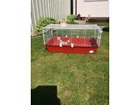 Rabbits indoor cage