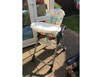 Multi function High chair £10