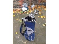 Full Set of Dunlop Max/Max II golf clubs with balls, glove & T's £45ono