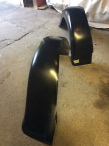 2 New Fiberglass Rears Fenders for 1934 coupe Plymouth