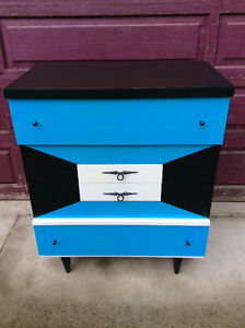 Vintage Retro Dressers 3 piece set