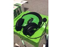Turtle beach x12 Xbox 360 headphone gaming headset