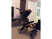 ABC TakeOff Travel Buggy Stroller in Black Gold