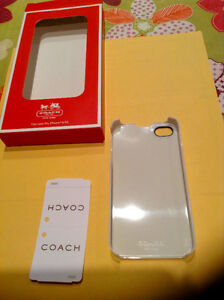 COACH IPHONE 4/4S CASE West Island Greater Montréal image 3