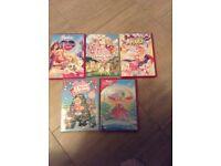 Various Barbie DVD's