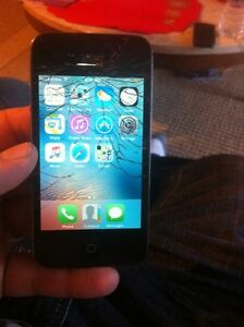 Cracked iPhone 4s best offer