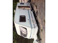Caravan - Lunar 2000 Clubman - 2 Berth + many extras £2,700
