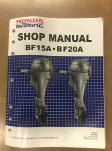 SHOP MANUAL HONDA 15/20 Edmonton Edmonton Area image 1