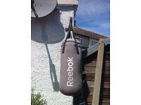 Reebok punch bag