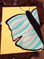 Modern Beautiful Butterfly Painting