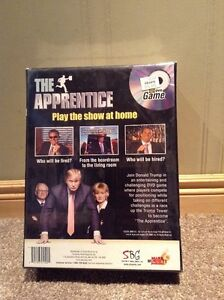 Donald Trump The Apprentice game UNOPENED-DVD and board game Kitchener / Waterloo Kitchener Area image 2