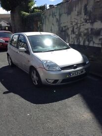 53 PLATE FORD FIESTA FLAME