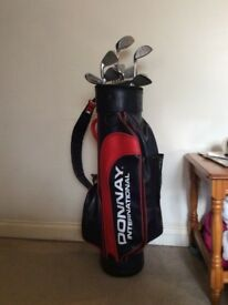 Donnay international golf clubs and bag