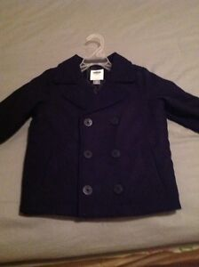 Brand New Boy's Old Navy Peacoat Size 3
