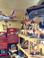 Model aircraft airplanes
