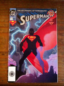 DC comics-Superman The beginning of  tomorrow