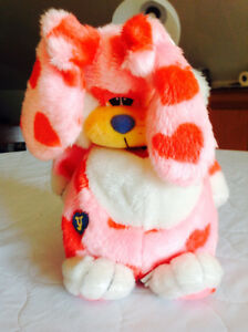 RETRO Stuffed Animal Toy - Yawnie the Yawning Bunny Rabbit