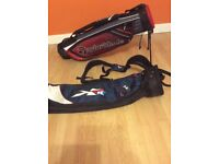 Taylormade and callaway golf bags